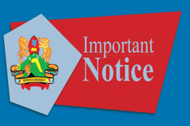 NOTICE OF ISSUANCE OF CERTIFICATES