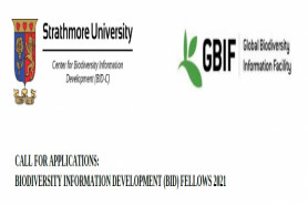CALL FOR APPLICATIONS: BIODIVERSITY INFORMATION DEVELOPMENT (BID) FELLOWS 2021