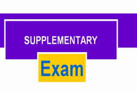 SUPPLEMENTARY/SPECIAL EXAMS FOR THE ACADEMIC YEAR 2019/2020
