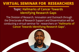Seminar on Hallmarks of Cancer Towards Identifying Research Gaps
