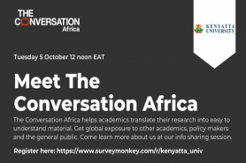 Meet the Conversation Africa - Facilitating Research Communication