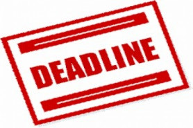 FEE PAYMENT AND UNITS REGISTRATION DEADLINES